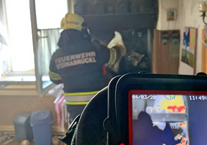 Küchenbrand in der Annaparkgasse