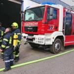 Brand am Werksgelände von Schoeller-Bleckmann