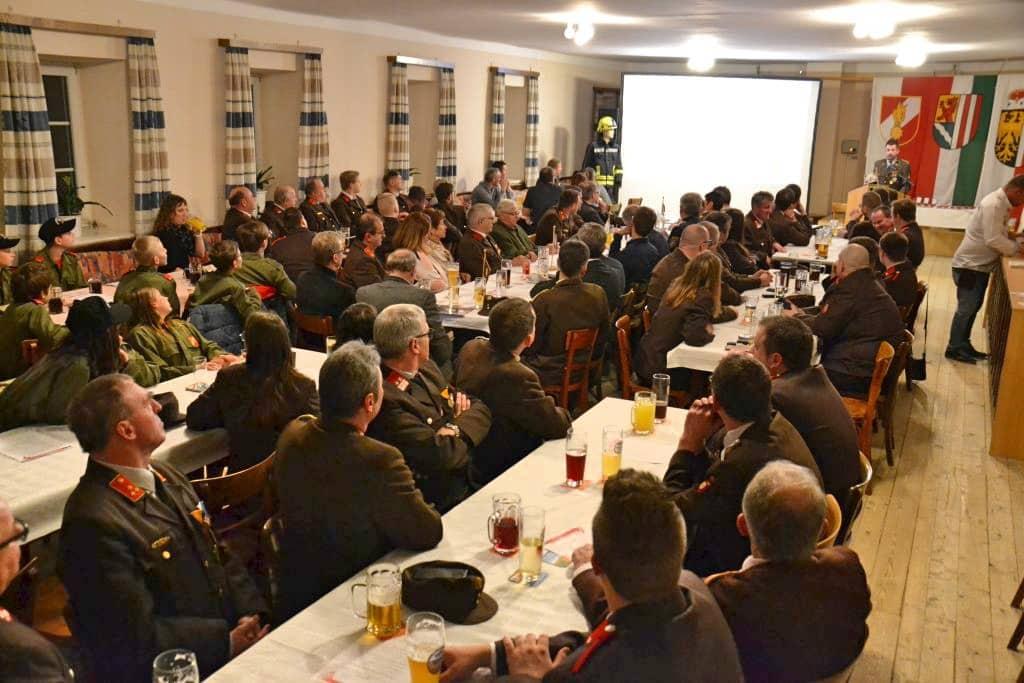 Jahresvollversammlung der Feuerwehr Andorf