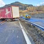 Schwerer Lkw-Unfall auf der A9 bei Kalwang
