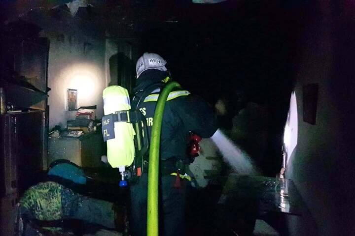 Zimmerbrand in Wien – Floridsdorf