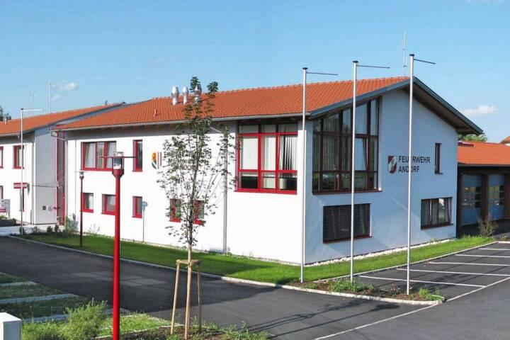 Andorfer Feuerwehren im Krisenmodus - Einsatzzentrum