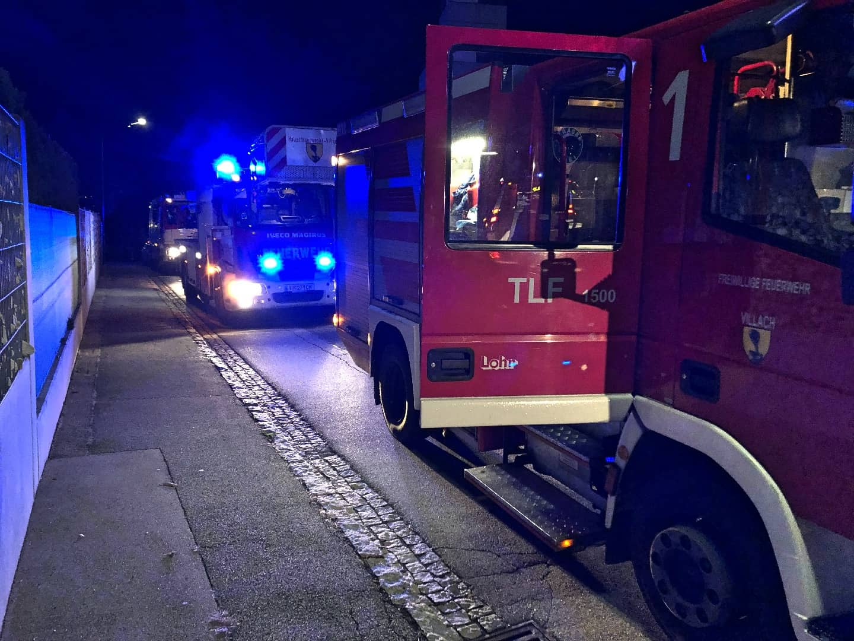 Balkonbrand im Stadtteil Lind