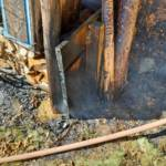 Selchbrand in Bad Gams