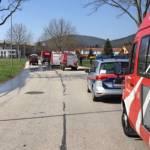 Fahrzeugbrand in Ternitz-Pottschach