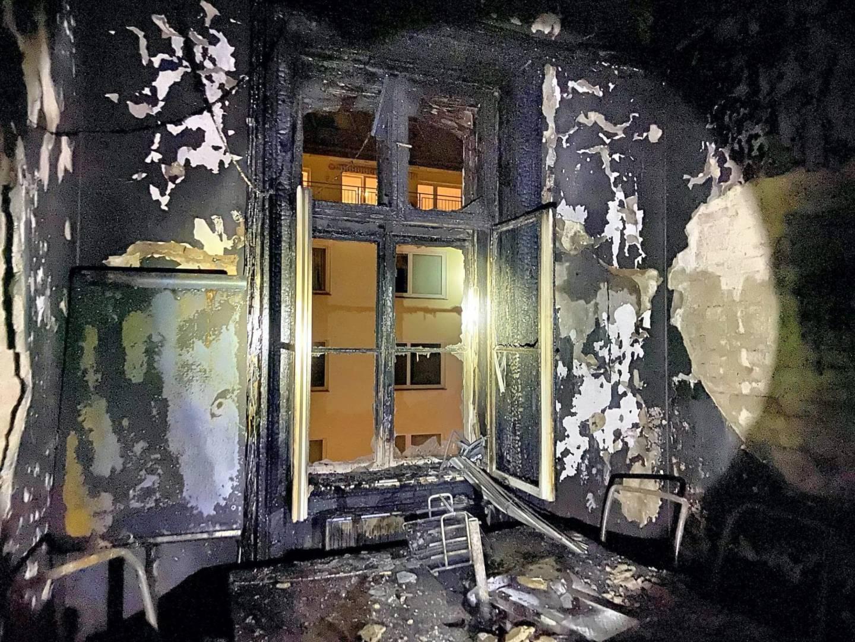 Zimmerbrand in Wien-Innere Stadt