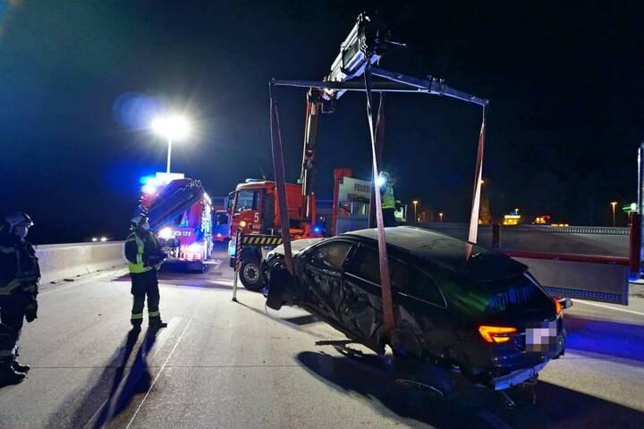 Geisterfahrerunfall auf der A2