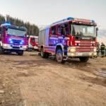 Waldbrand in der Hinterlainsach fordert den Einsatz von 11 Feuerwehren und zwei Hubschraubern
