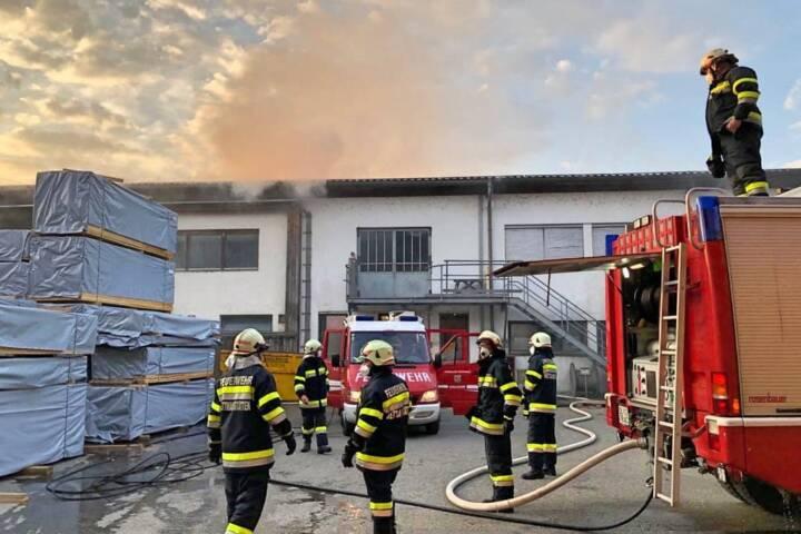 Brandeinsatz am Karsamstag in Preding