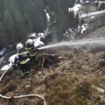 Zwei Flächenbrände am Ostermontag