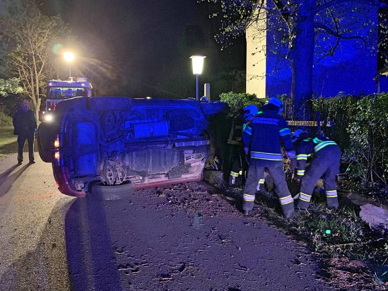 Verkehrsunfall in der Ahorngasse