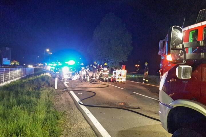 Verkehrsunfall auf der Radlpass Straße
