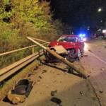 Verkehrsunfall auf der B115a Höhe Annabergkreuzung