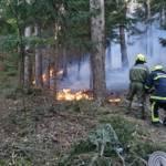 Zwei Brandeinsätze