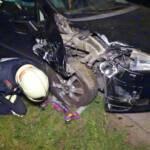 Verkehrsunfall - Fahrer verschwunden