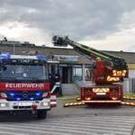 Brandeinsatz im Freizeitzentrum
