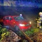 Skurrile Fahrzeugbergung in St. Ulrich im Greith