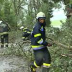 Unwetterfront über Bezirk Liezen