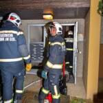 Küchenbrand in Mehrparteienhaus