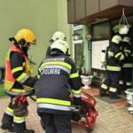 Zimmerbrand mit Menschenrettung