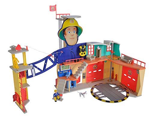Feuerwehrmann Sam Spielzeug-Mega-Feuerwehrstation XXL