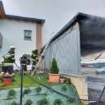 Garagenbrand in Untergrossau - Ortsteil Hart-Berg