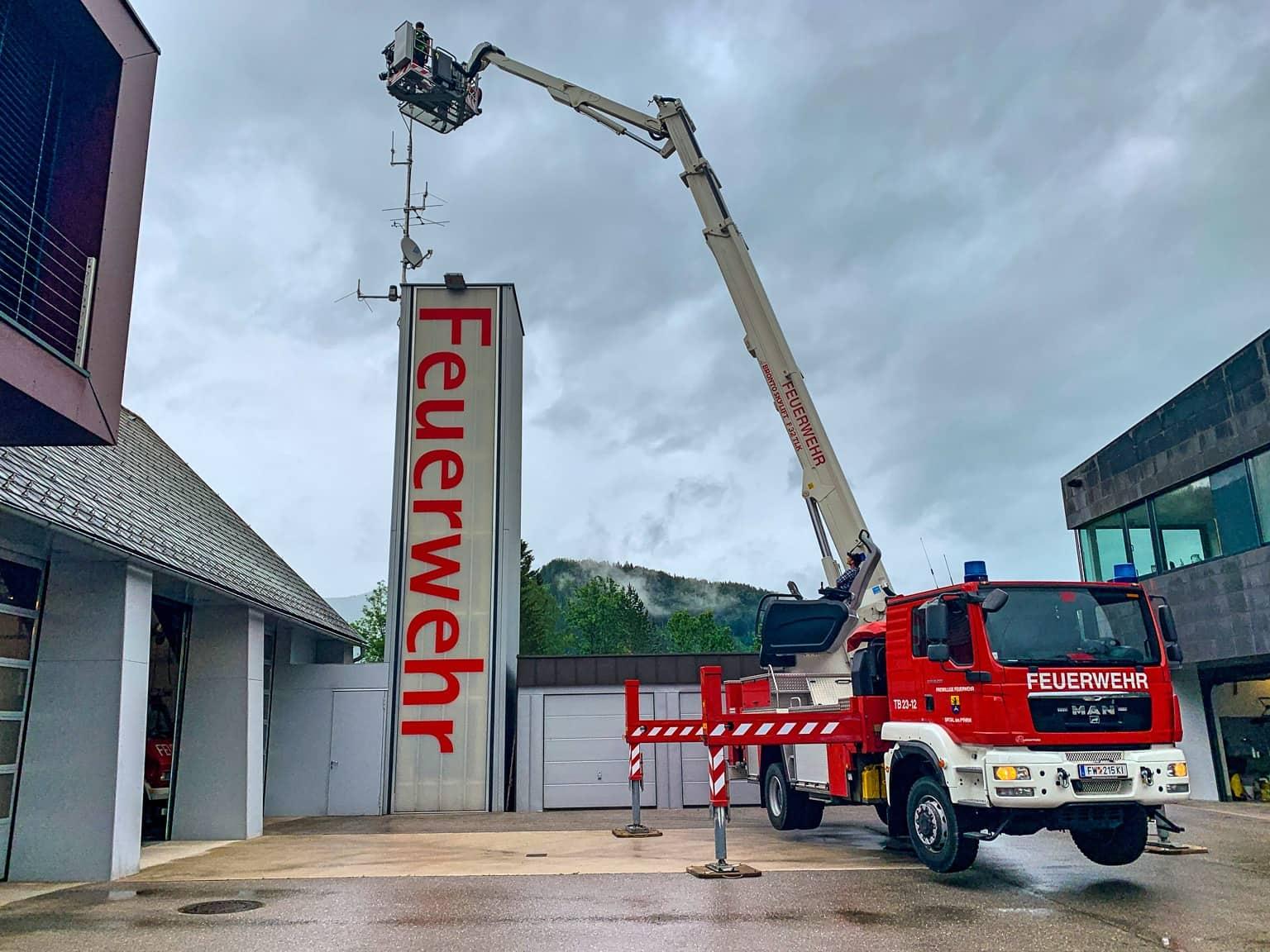 Erfolgreiche Umstellung der Feuerwehr auf Digitalfunk