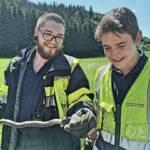 Wieder Schlangenbergung für die Hauptfeuerwache