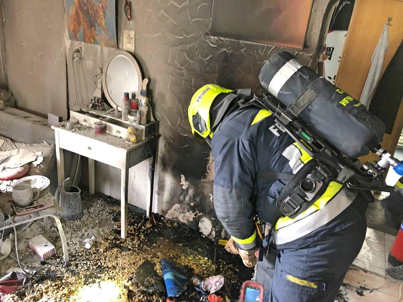 Beginnender Wohnungsbrand in Villach