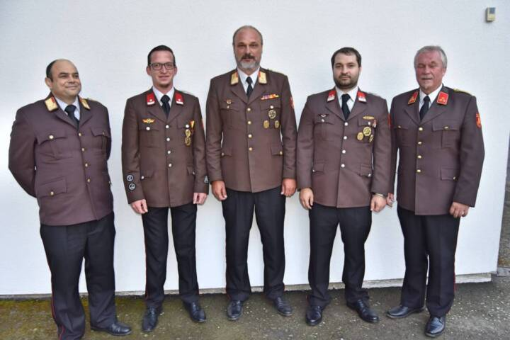 Änderungen im Bezirksfeuerwehrkommando