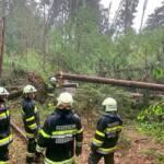 Feuerwehren im Unwettereinsatz im Bezirk