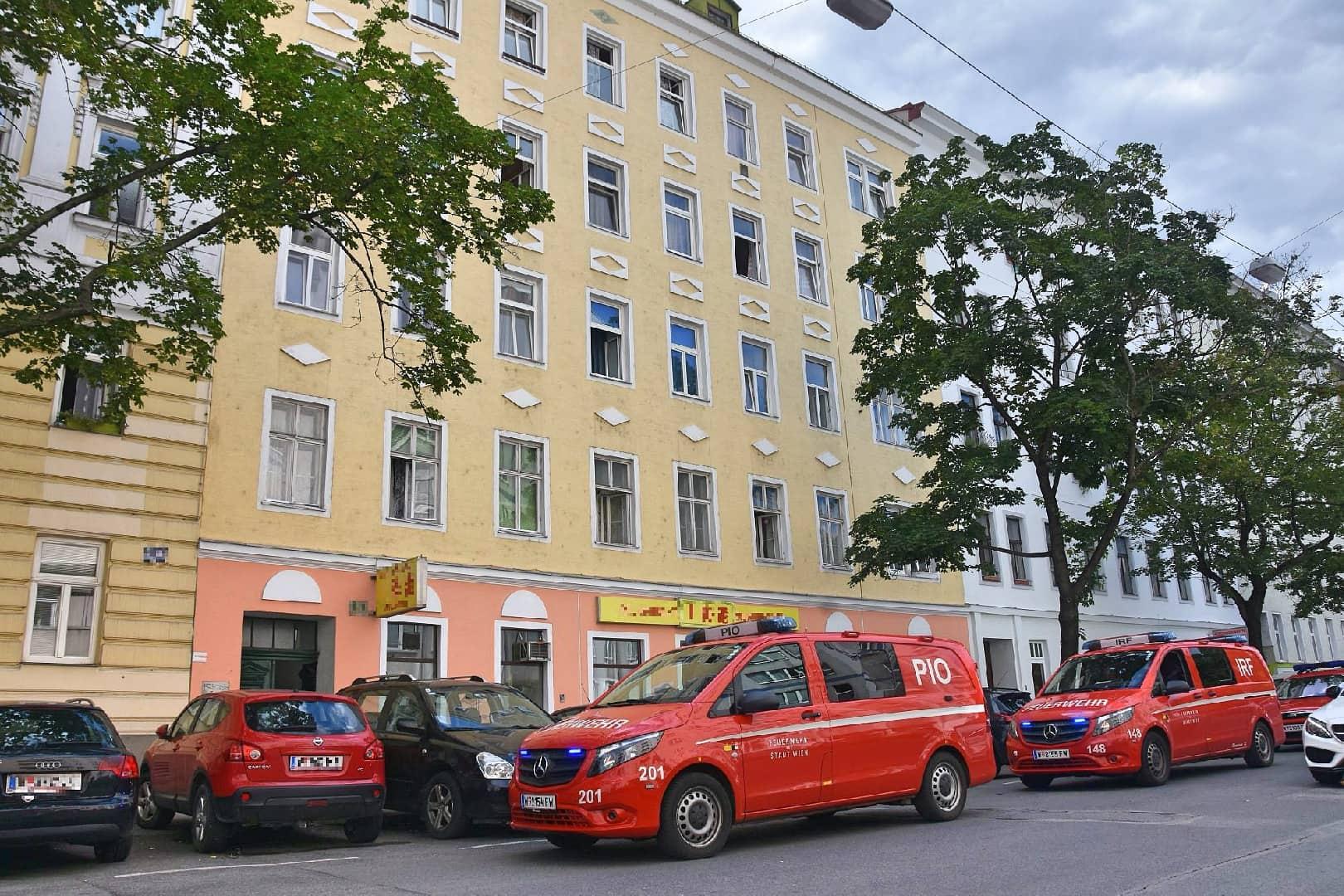 Kohlenstoffmonoxid-Unfall in Wien-Brigittenau