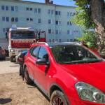 Fahrzeugbergung - Pkw im Bach