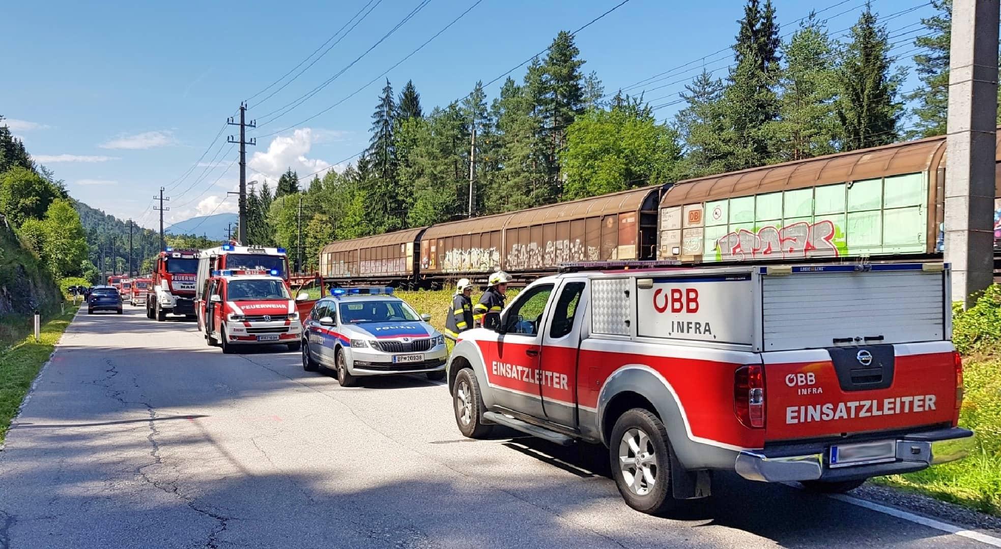 Mehrere Feuerwehreinsätze fordern Einsatzkräfte