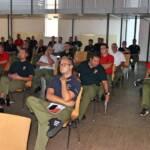 Tunnel S7 - Erstmals Lehrgang der Feuerwehrschule in Rudersdorf