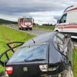Verkehrsunfall mit verletzten Personen