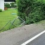 Verkehrsunfall in Untertweng