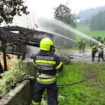 Gebäudebrand in Dietmannsdorf