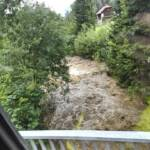 Murenabgang in Schwarzwald/Kaning