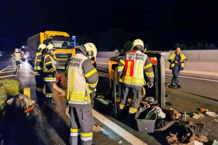 Verkehrsunfall auf S36