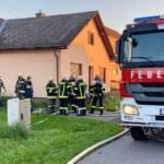 Wohnhausbrand in Doiber
