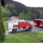 Schweres Unwetter über Großraum Deutschlandsberg