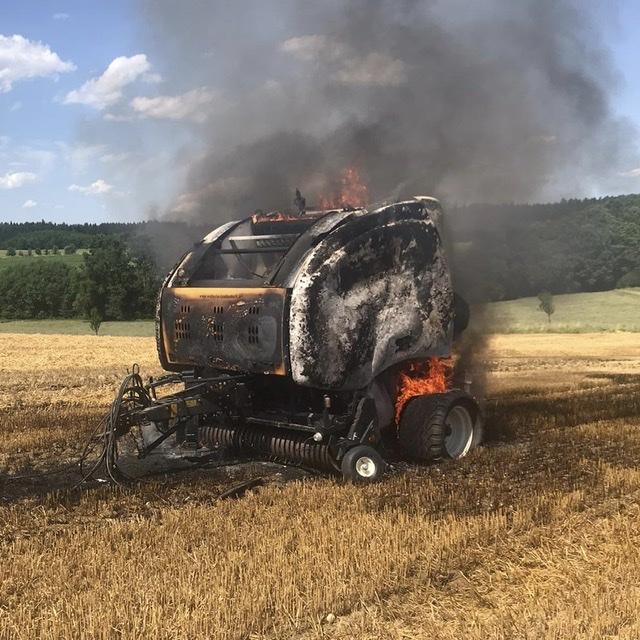 Alarmstufe 2 nach Fahrzeugbrand