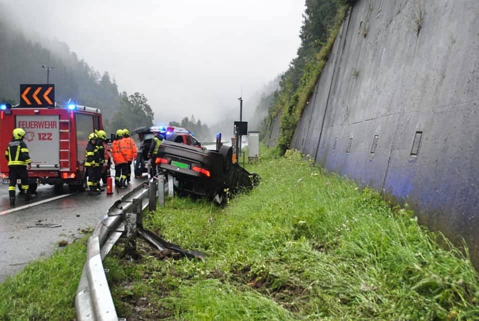 Zwei schwere Verkehrsunfälle in nur 2 Stunden forderten die FF-St. Michael