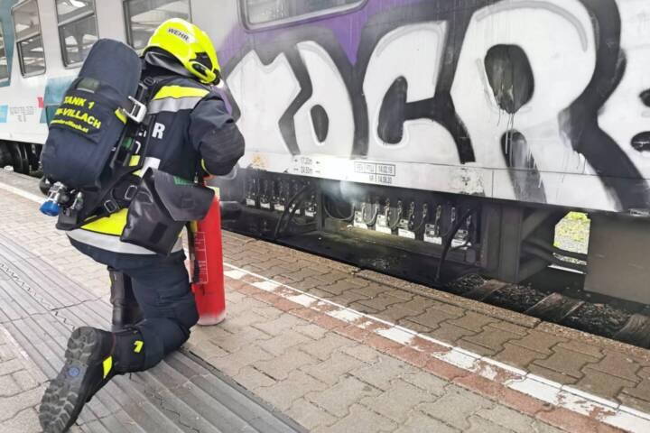 Waggonbrand am Hauptbahnhof verhindert