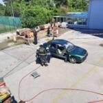 Brunner Ferienspiel besucht Feuerwehr