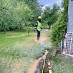 31 Einsätze durch heftige Gewitter mit Starkregen