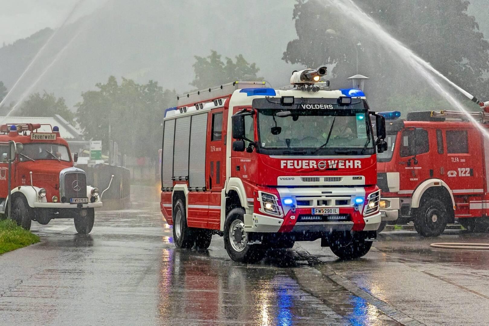 Neues Tanklöschfahrzeug für die Feuerwehr