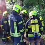 Scheunenbrand in Buchbach
