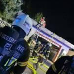 Dachstuhlbrand in Weidling